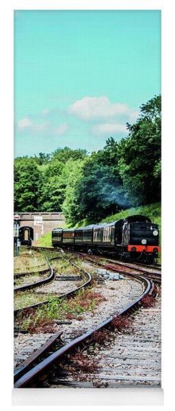 Steam Train Nr The Bridge Yoga Mat