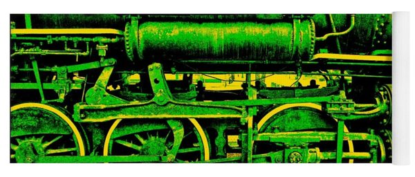 Steampunk Iron Horse No. 3 Yoga Mat