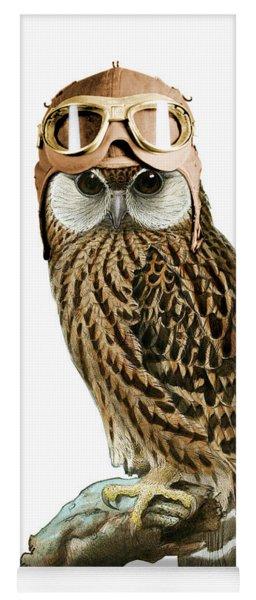 Steampunk Owl Yoga Mat
