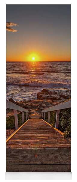 Steps To The Sun  Yoga Mat