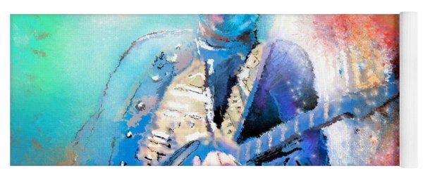 Steve Lukather 01 Yoga Mat
