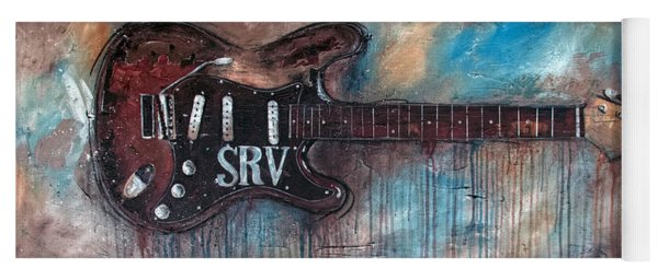 Stevie Ray Vaughan Double Trouble Yoga Mat