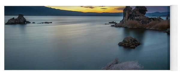 Stillness...mono Lake Yoga Mat