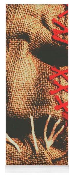 Stitched Up Madness Yoga Mat