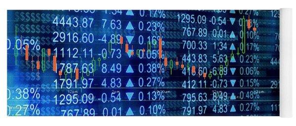 Stock Exchange Yoga Mat