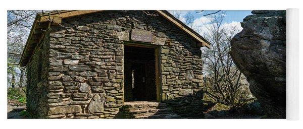 Stone Shelter Blood Mountain Georgia 2 Yoga Mat