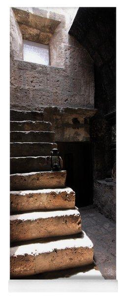 Stone Stairs At Santa Catalina Monastery Yoga Mat