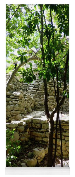 Stone Steps In The Jungle Yoga Mat