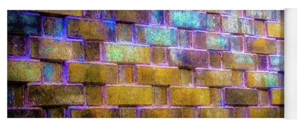 Brick Wall In Abstract 499 Yoga Mat