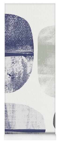 Stones 1- Art By Linda Woods Yoga Mat