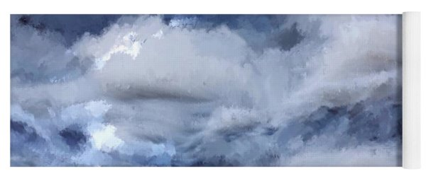 Storm At Sea Yoga Mat