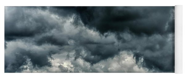 Storm Clouds In The Highlands Yoga Mat