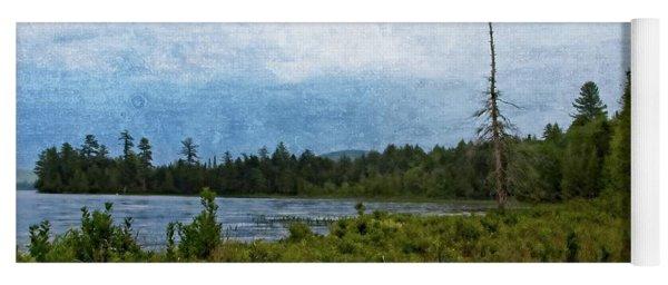 Storm On Raquette Lake Yoga Mat