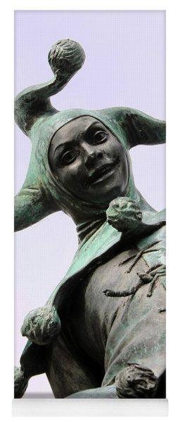 Stratford's Jester Statue Yoga Mat