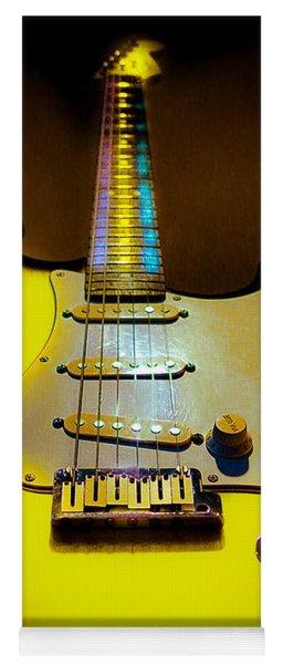 Stratocaster Lemon Burst Glow Neck Series Yoga Mat