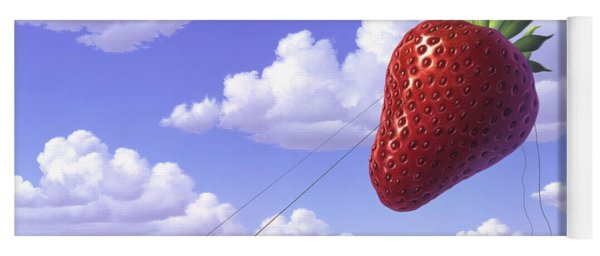 Strawberry Field Yoga Mat