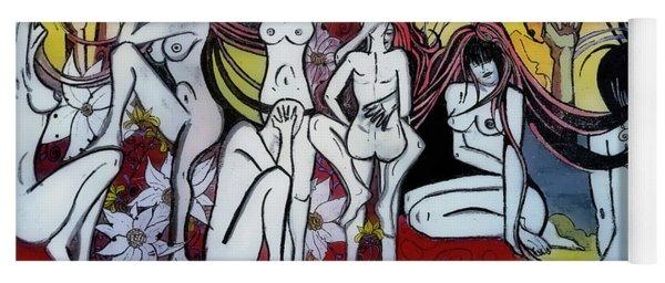 Street Art - Siena Italy Yoga Mat