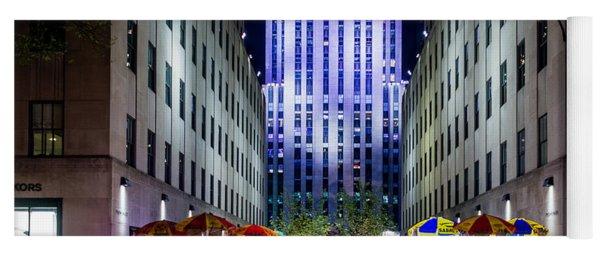 Rockefeller Center Yoga Mat