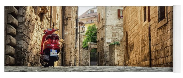 Streets Of Italy Yoga Mat
