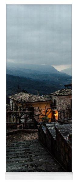 Streets Of Italy - Caramanico 3 Yoga Mat