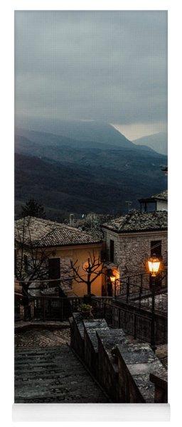 Streets Of Italy - Caramanico Yoga Mat