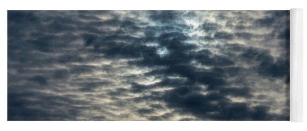 Striated Clouds Yoga Mat