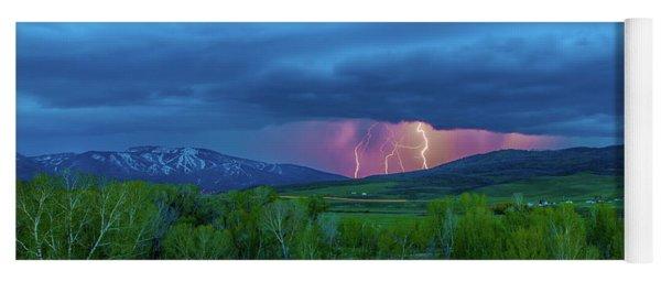 Storm Peak  Yoga Mat