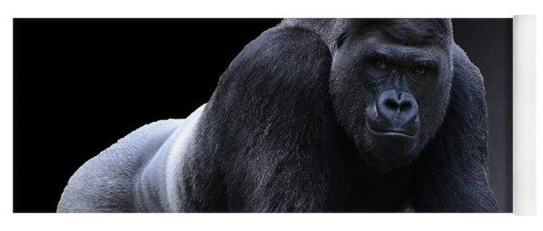 Strong Male Gorilla Yoga Mat