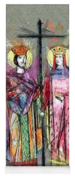 Sts. Constantine And Helen Yoga Mat