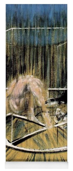 Study For Crouching Nude Yoga Mat