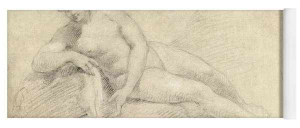 Study Of A Female Nude  Yoga Mat