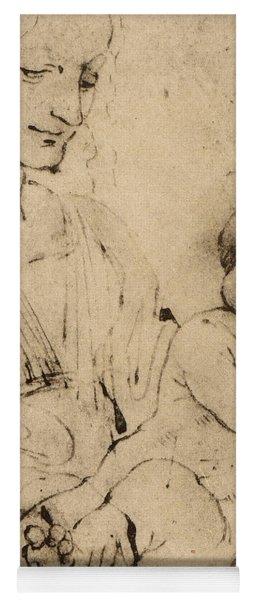 Study Of A Madonna And Child Yoga Mat