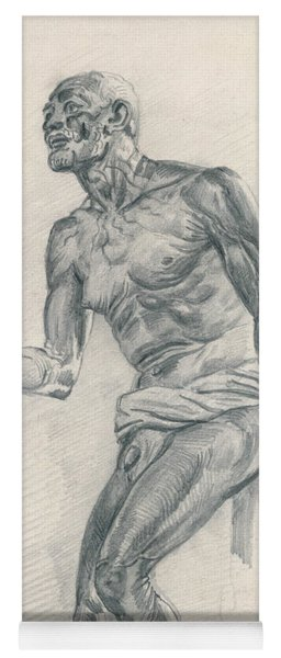 Study Of A Male Nude Study For The Death Of Seneca Yoga Mat