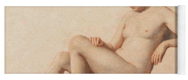 Study Of A Nude Yoga Mat