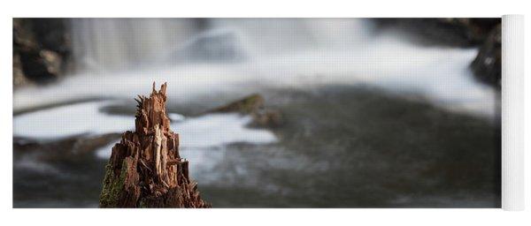 Stumped At The Secret Waterfall Yoga Mat