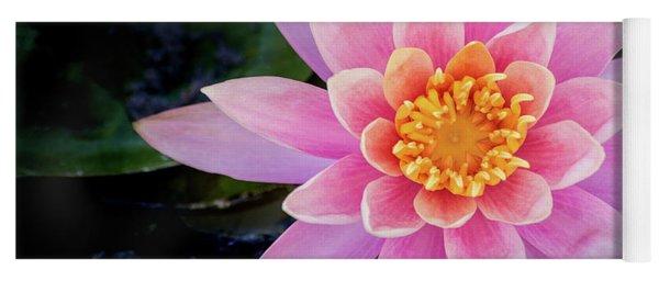 Stunning Water Lily Yoga Mat