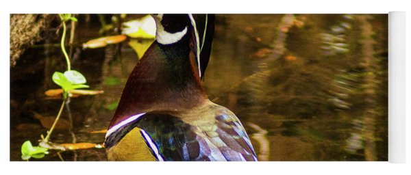 Stunning Wood Duck Yoga Mat