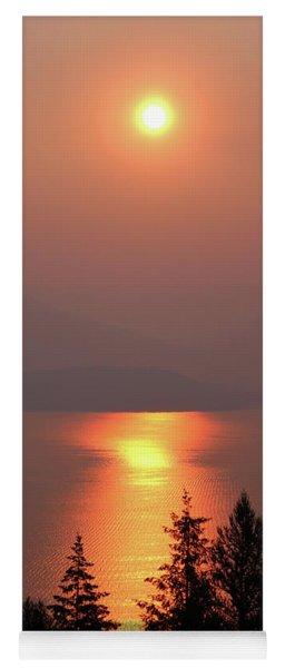 Sublime Sunrise Yoga Mat