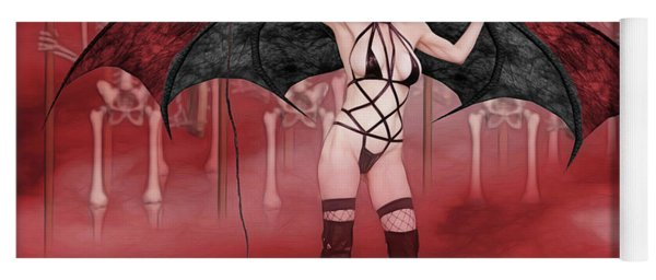 Succubus And Army Yoga Mat