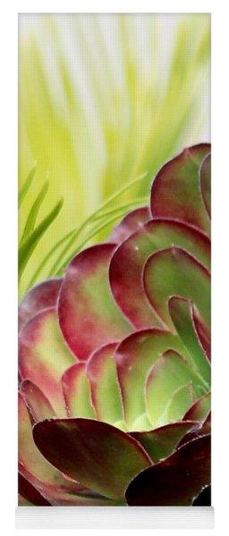 Succulent Yoga Mat