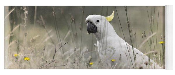 Sulphur Crested Cockatoo Yoga Mat