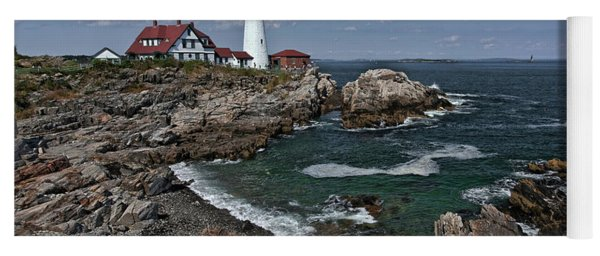 Summer Afternoon, Portland Headlight Yoga Mat