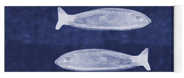 Summer Fish- Art By Linda Woods Yoga Mat
