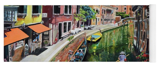 Summer In Venice - Venezia - Dreaming Of Italy Yoga Mat