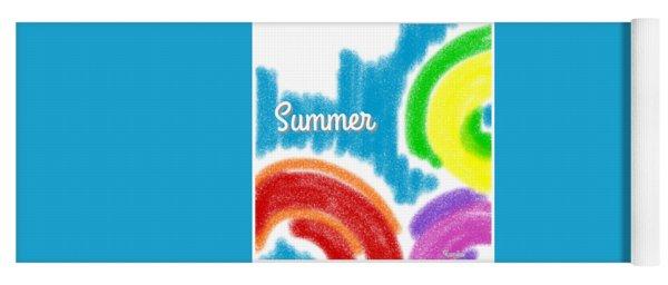 Summer Yoga Mat