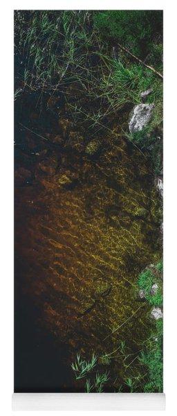 Summer Lake - Aerial Photography Yoga Mat