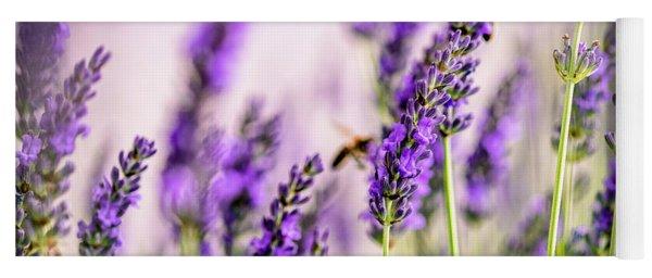 Summer Lavender  Yoga Mat