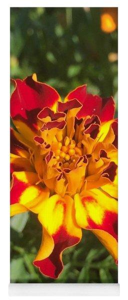 Summer Marigold Yoga Mat