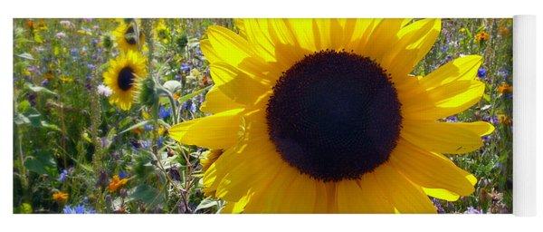 Summer Meadow Yoga Mat