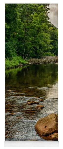 Summer Morning Williams River Yoga Mat